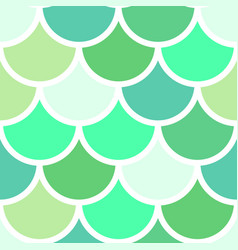 green scales seamless pattern vector image vector image