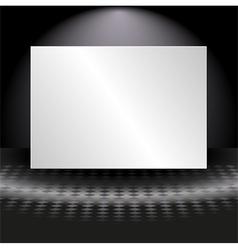Light banner vector