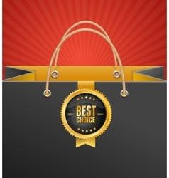 Paper Bag Background vector image