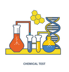 Chemical testing conducting experiments testing vector