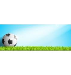 Header soccer sunshine vector