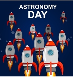 May 14 Day of Astronomy vector image