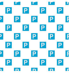 parking place pattern seamless vector image vector image