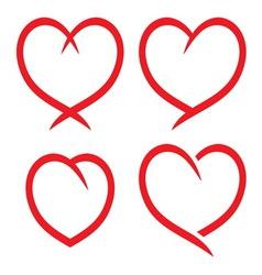 Srce kol2 vector image vector image