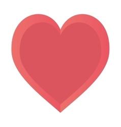 Heart love happy romance symbol design vector