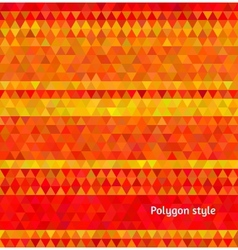Abstract background polygon mosaic style vector