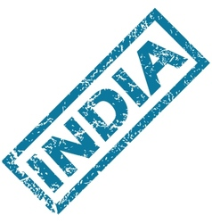 India rubber stamp vector