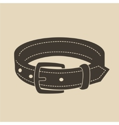 Dog collar vector
