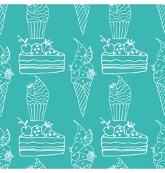 confection vector image vector image