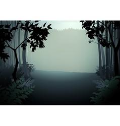 Dark forest vector