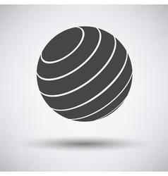 Gray single finess vector