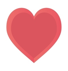 heart love happy romance symbol design vector image