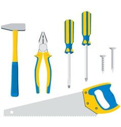 Tool Kit For Repair vector image