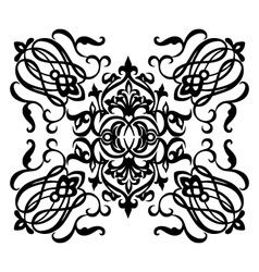 Ornamental motif vector