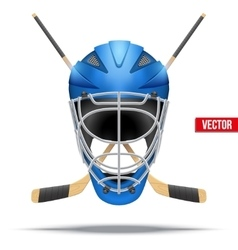 Ice hockey symbol design elements vector