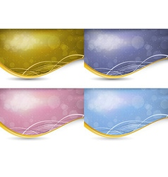 Abstract background with transparency vector image vector image