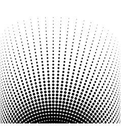 Abstract halftone cylinder vector