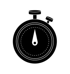 analog chronometer icon image vector image