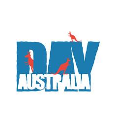 australia day traditional australian patriotic vector image