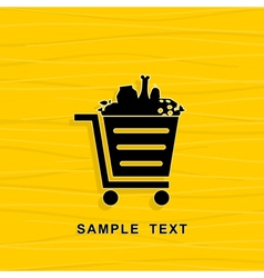 Cart vector image vector image