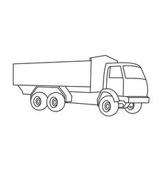 pickup rural truck tow auto truck with orange vector image vector image