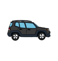 Suv car vehicle luxury compact image vector