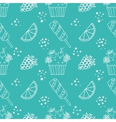 confection vector image