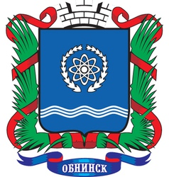 Obninsk City vector image vector image