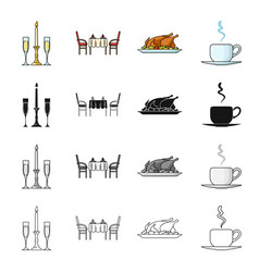 tea liquid restaurant and other web icon in vector image vector image