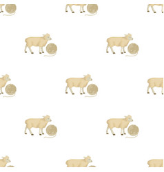 Wool single icon in cartoon stylewool vector