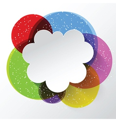 abstract cloud background 2009 vector image