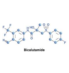 Bicalutamide is an antiandrogen vector