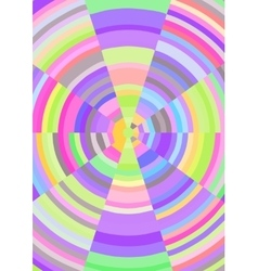 Cheerful abstract background with multicolored vector image vector image