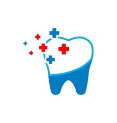 Dental clinic Logotype concept health medical vector image vector image