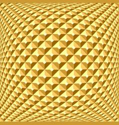 Golden relief pattern vector