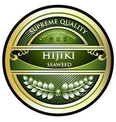 Hijiki Seaweed vector image vector image