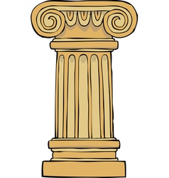 Column pedestal vector
