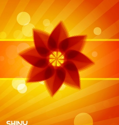summer shine vector image