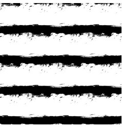 Black horizontal stripes on white background vector