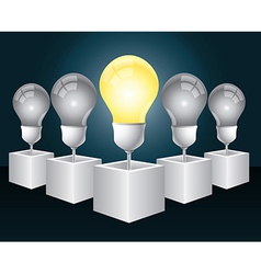Creative leadership vector image