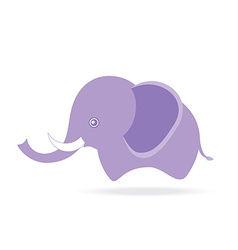 cute male elephant cartoon drawing thailand vector image vector image
