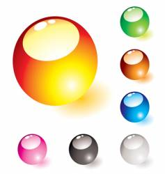 Marble shine glow vector