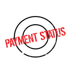 Payment status rubber stamp vector