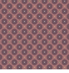 Seamless Vintage Graphic Pattern vector image vector image