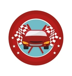 Tires car emblem icon vector