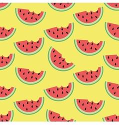 Watermelon in summer vector image vector image