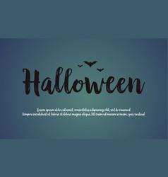 Background of halloween night design vector