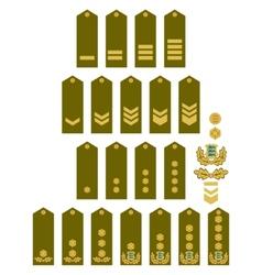 Armed Forces insignia Estonia vector image
