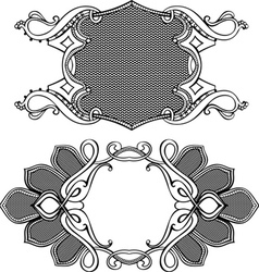 Antique styles vector