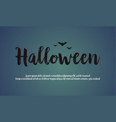 Background of halloween night design vector